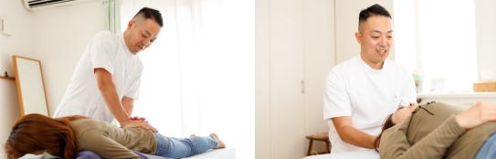 腰痛/坐骨神経痛/整体イメージ写真